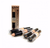 2018 Nyx concealer double lie silkworm grooming cream highli...