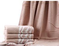 hommes visage serviette 33 * 72 cm 70% coton en bambou mélange main cheveux secs de towelcloth doux adulte universel