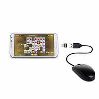 100PCS mini disco flash USB del disco de U 5 pines Micro USB OTG Adaptador Adaptador convertidor de cable para Xiaomi HTC Samsung HuaWei tableta del teléfono
