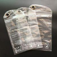 Impermeabile Jelly Zipper Sacchetto di plastica di OPP Packaging Il pacchetto per iPhone Pro 11 XS Max XR X 8 Inoltre Samsung S10 Lite Nota 10