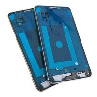 Samsung Galaxy note3 Not 3 LTE 4G N9005 Için ön Ekran LCD Panel Çerçeve Orta Çerçeve Konut + Ev Düğmesi Gümüş Altın Değiştirme