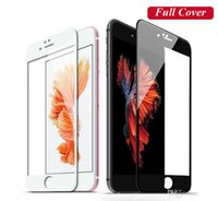 Gehärtetes Glas Für iPhone7 2.5D 0.26MM 9H Hart Full Coverage Anti-Scratch Screen Protector iPhone 6 7 Plus 7Plus mit Kleinpaket