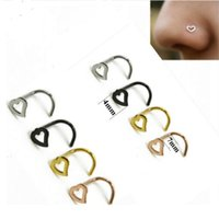 New Nose Rings Body Piercing Jewelry Fashion Jewelry Stainle...