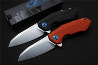 Zero Tolerance OEM ZT0456 Flipper folding knife bearing D2 b...