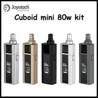 100% original Joyetech Cuboid Mini 80W Kit 2400mAh TC VW APV...