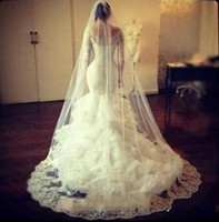 Bridal Veils Cheap Long Veils Soft Tulle Three Meters Long V...