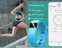 Bracelet FITBIT TW64 Smart Band Fitness Activity Tracker Bracelet sport Smart 4.0 Smartband 5 couleurs pour Iphone SE 6 6s Plus