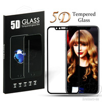 5D Clear Curved Full Cover Tempered Glass Screen Protector F...