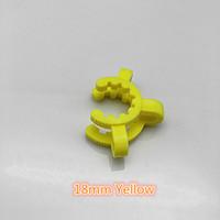 플라스틱 Keck 클립 Nector 콜렉터 실험실 클램프 유리 어댑터 흡연 액세서리 봉수 파이프 14mm 19mm 조인트