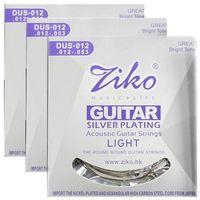 3sets / lot 012-053 D6027 سلاسل الغيتار الصوتية أجزاء الغيتار الجملة الآلات الموسيقية الملحقات