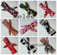 150color choose Xmas Bohemian mermaid ins cotton girls bow h...