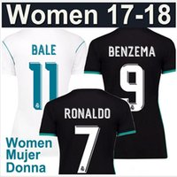 New 17 18 Real Madrid Women' s clothing jerseys RONALDO ...