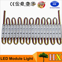 80LM 0. 72W 3 Leds SMD 5050 Led Modules RGB Led Pixel Modules...