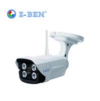 Novo Sem Fio 1280 * 720 P HD 1.0MP IP Câmera ONVIF IP66 À Prova D 'Água Ao Ar LivreIndoor IR Cortar a Visão Noturna P2P com Cartão Micro SD