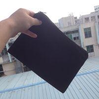 (60pcs/lot)plain black color pure cotton canvas coin purse with black zipper unisex casual wallet blank cotton pouches black cotton zip bag
