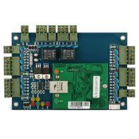 TCP / IP LAN tomada leitor RFID IC placa de painel de controle de acesso ao controlador de acesso 2 porta para entrar no sistema de controle de acesso porta