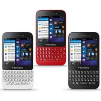 BlackBerry Q5 Refurbished Smart Phone 4G LTE 3.1Inch Screen 2180MAH Batterie Dual Core 5.0MP WIFI GPS Avec Qwertykeyboard