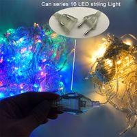 Led strings 크리스마스 불빛 미친 판매 10M / PCS 100 LED 문자열 파티 조명에 대 한 장식 조명 110V 220V 주도 휴일 조명