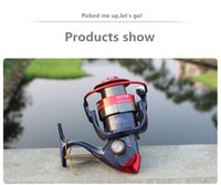 AM2000- 7000 series 12BB black red color pesca fishing wheel ...