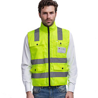Motorcycle Reflective vests 360 Degrees High Visibility Neon...