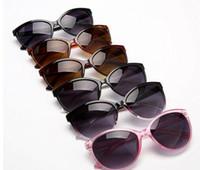 3e702ba1fac Compre Gafas De Sol Planas De Lujo Para Mujer Diseñador De La Marca ...