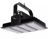 울트라 얇은 지느러미 라디에이터 LED는 200W LED 홍수는 IP65의 방수 높은 극 AC85-265V 삼년 보증 프로젝터 조명 램프 조명 투광 조명