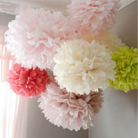 Wedding Decoration Events 5 pcs 20 25 30 cm Pom Pom Tissue P...
