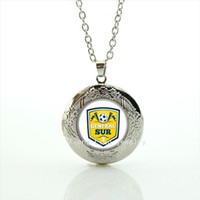 Neue heiße Verkauf Mode Glaskuppel Medaillon Halskette General Sur Schmuck Geschenk für Jungen und Mädchen Zubehör NF024