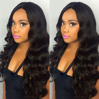 Lace Front Human Hair Wig Wavy Body Wave 360 Lace Wig Brazil...