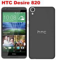 원래 HTC 디자 이어 820 듀얼 SIM 5.0 인치 쿼드 코어 8MP GPS WIFI 3G 잠금 해제 휴대 전화를 단장