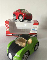Super alloy car model Q version of the car toy die casting model models show toys random delivery