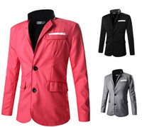 2017 men' s suit custom factory outlets Adult clothing w...