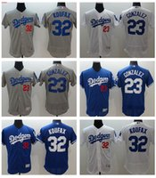 2016 Flexbase Baseball Jerseys Los Angeles Dodgers #23 GONZA...