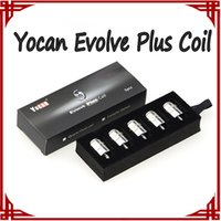 Yocan Evolve Plus Катушка Evolve Керамического кварцевое Dual Катушка E сигарета Замена катушка Катушка для Evolve Испаритель DHL
