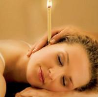 Hochwertige indische Therapie Ohr Kerze natürliche Bienenwachs Ohrkerzen Ohrenpflege Ohrenschmalz Entfernung Kerze mit reinem ätherischen Öl