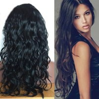 Best Long Full Lace Human Hair Wigs Brazilian Body Wave Glue...