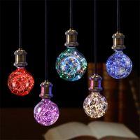 2020 Nouvelle ampoule à incandescence Vintage E27 85V-265V RGB String Lampe de filament de lumière pour la décoration de vacances de Noël Rétro Edison Lampes