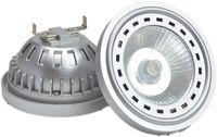 AR111 Projecteur LED G53 Ampoule LED 12V CC Blanc chaud Blanc froid Lampe 15W