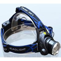 T6 LED المصباح كشافات رئيس ضوء الشعلة مضيا التخييم ليلة الصيد رضوخ للمصابيح الأمامية
