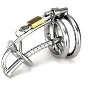 미국의 새로운 섹시한 남자 스테인리스 남성의 순결 장치 억제 페티쉬의 Urethral 튜브 # R2