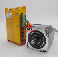DSP Fechado-Laço CNC Stepper Motor Driver Kit 20 ~ 50 V DC 3PH 3.5A 2NM NEMA23 57mm para CNC Router, máquina de gravura