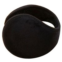 All'ingrosso-vendita calda stile di moda unisex nero paraorecchie inverno orecchio muff wrap fascia più calda grip earlap regalo 7gij