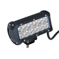 """7 """"36W Cree LED lavoro luce IP67 Bar lampada trattore barca fuoristrada 4WD 4x4 12 v 24 v JEEP camion SUV CUV ATV Spot Flood lavoro luce di guida"""