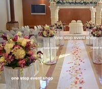 27 inç boyunda) sıcak satış düğün dekorasyon masa çiçek için muhteşem vazo