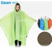 3 in 1 Waterproof Cape Groundsheet Shelter Festival Poncho O...
