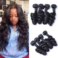 Peruvian Hair Weave Loose Wave Virgin Human Hair Extensions ...