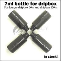 Dripbox bottles 7ml e juice e-liquid bottle Tanque de repuesto para kanger dripbox 60w starter kit subdrip 160 replacement vaporizer pet bottle
