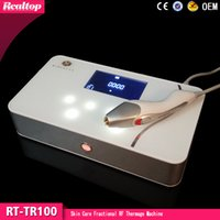 Hot Sell 3 RF tips Dot Matrix Fractional RF thermagic skin t...