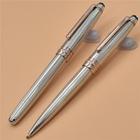 New Luxury pens texture Silver metal 163 pens stationary sup...