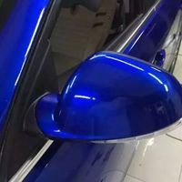 cnhgarts 152 * 100cm toppkvalitet super glans mörkblå hög glansig metallisk pärla bil kropp vinyl bil wrap film bil klistermärke gmp11-1